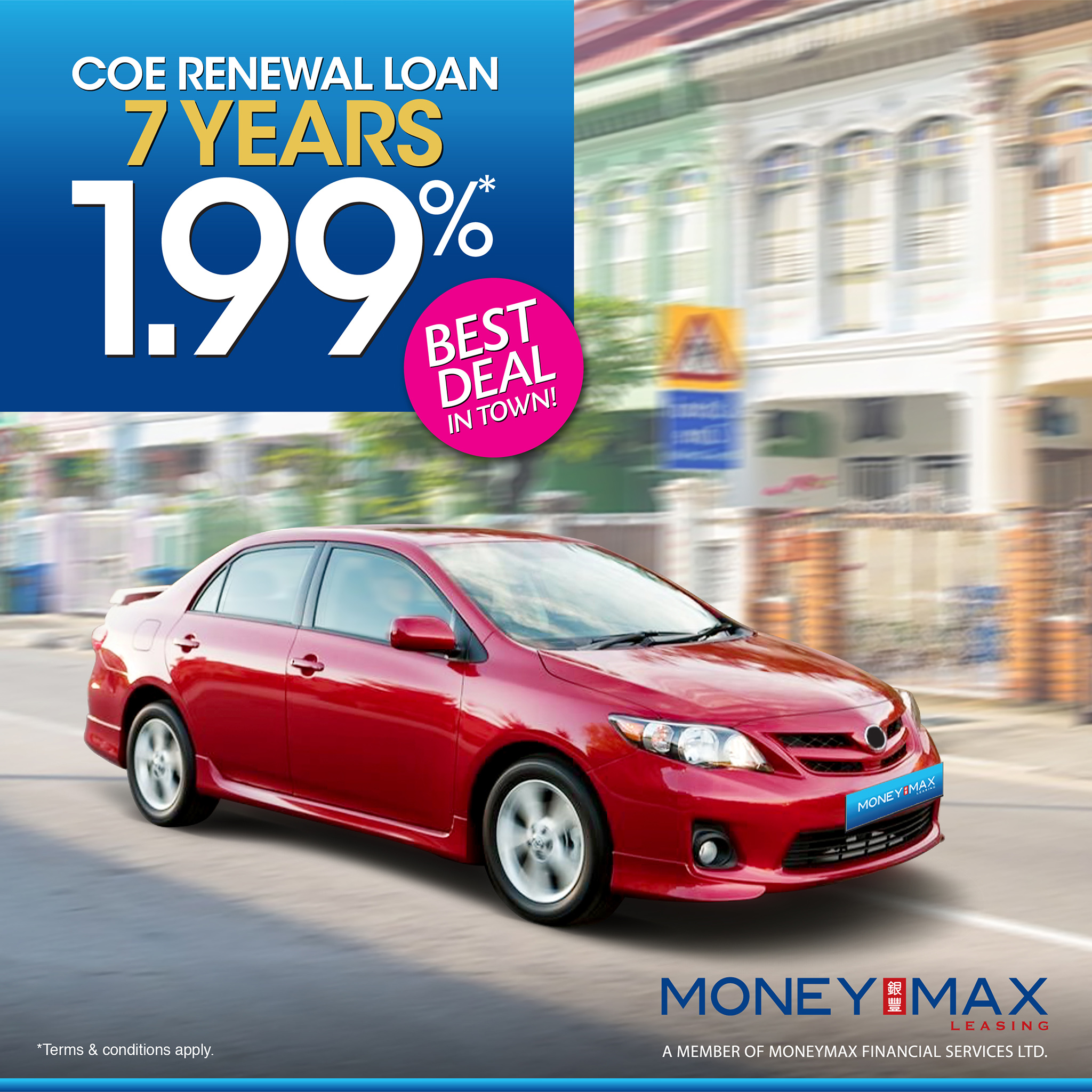 COE RENEWAL LOAN MONEYMAX LEASING RENEW COE